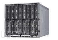 Dell PowerEdge M1000E + 4x M610 (2x E5640/64Gb)