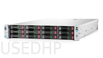 Сервер HP Proliant DL380e gen8 14LFF (2x E5-2450L/64Gb)