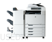 МФУ HP Color LaserJet CM6040 mfp с финишером