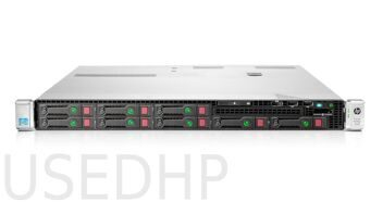 Сервер HP Proliant DL360p gen8 8SFF (2x E5-2680v2/128Gb)
